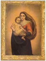 Il quadro della Madonna Sistina