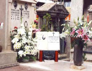 La tomba di Edvige ad Albano Laziale